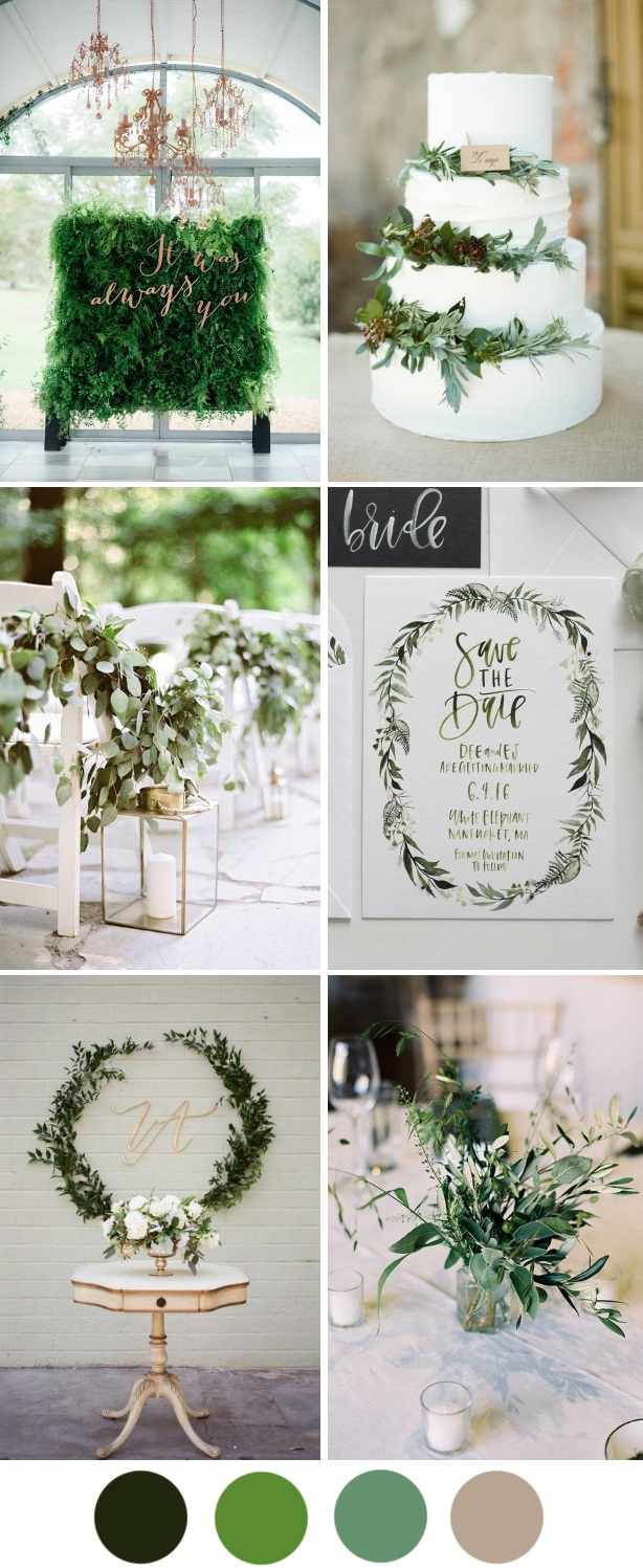 Wedding Colors Trending for Fall of 2017 & Spring of 2018 » Weddings ...