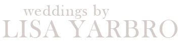 Weddings by Lisa Yarbro logo